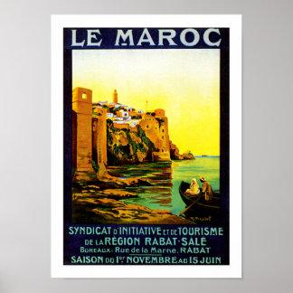 Le Maroc ~ Rabat Print