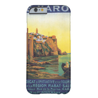 Le Maroc Vintage Travel Poster Barely There iPhone 6 Case