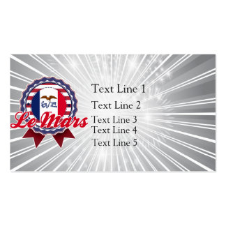 Le Mars, IA Double-Sided Standard Business Cards (Pack Of 100)