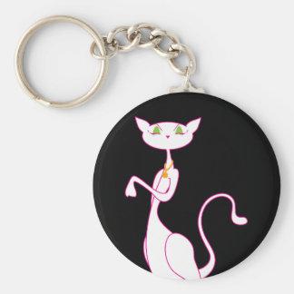 Le Meow Blanc Keychain