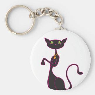 Le Meow Noir Keychain