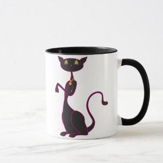 Le Meow Noir Mugs