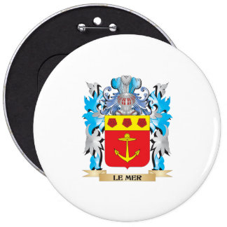Le-Mer Coat of Arms - Family Crest Pins