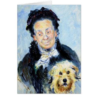 Le Mere Paul  Claude Monet Card