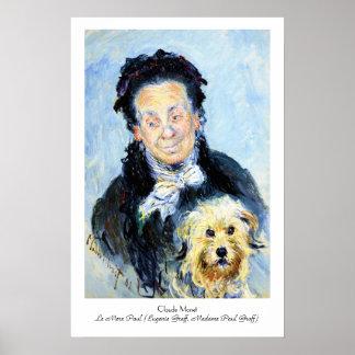 Le Mere Paul  Claude Monet Poster