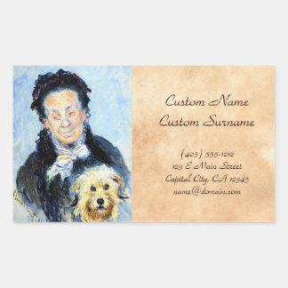 Le Mere Paul  Claude Monet Stickers