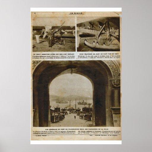 Le Miroir 1918, Vladivostok Poster
