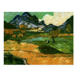 Le Mont Gaussier, bella arte de Vincent van Gogh Postales