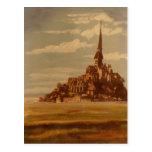 Le Mont Saint-Michel, Brittany, France Postcard