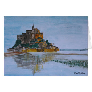 Le Mont Saint Michel Card