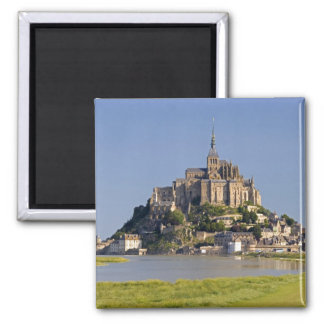 Le Mont Saint Michel in the region of 2 Inch Square Magnet