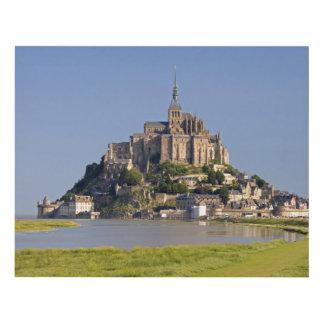 Le Mont Saint Michel in the region of Panel Wall Art