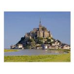 Le Mont Saint Michel in the region of Postcard