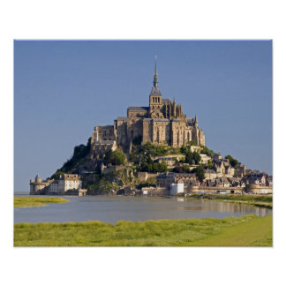 Le Mont Saint Michel in the region of Poster
