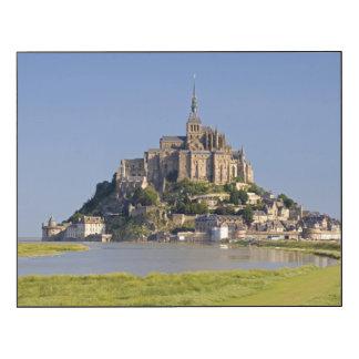 Le Mont Saint Michel in the region of Wood Wall Art