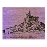 le Mont-Saint-Michel Postcard