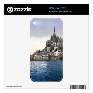 LE MONT ST MICHEL 2 DECAL FOR THE iPhone 4S