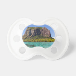 Le Morne Brabant Mauritius with sea panoramic Pacifier