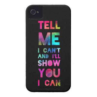 Le mostraré que puedo arco iris Case-Mate iPhone 4 carcasa