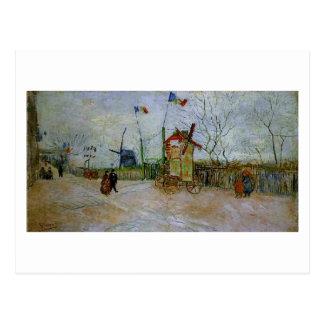 Le Moulin a Poivre, Vincent van Gogh Post Card