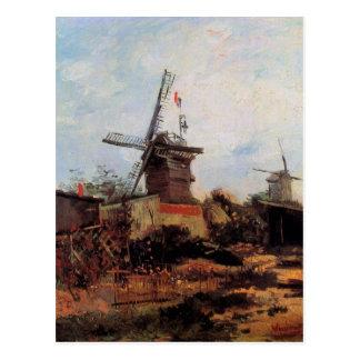 Le Moulin de Blute-Fin by Vincent van Gogh Postcard