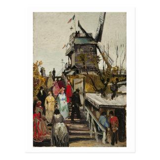 Le Moulin de Blute-Fin, Vincent van Gogh Postcard