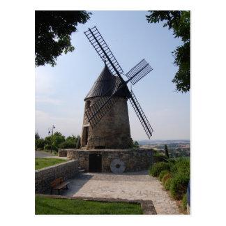 Le Moulin de Cugarel, Castelnaudary Postcard