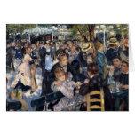 Le Moulin de la Galette by Pierre Auguste Renoir Greeting Card