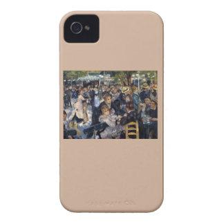 Le Moulin de la Galette by Pierre Auguste Renoir iPhone 4 Case