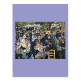 Le Moulin de la Galette by Pierre Auguste Renoir Postcard