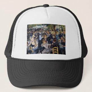 Le Moulin de la Galette by Pierre Auguste Renoir Trucker Hat