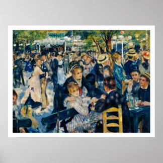 Le Moulin de la Galette by Renoir Print