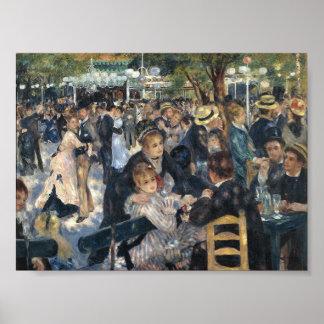 Le Moulin de la Galette by Renoir Poster