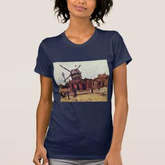 Le Moulin De La Galette By Vincent Van Gogh T Shirt