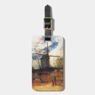 Le Moulin de la Galette Van Gogh Bag Tag