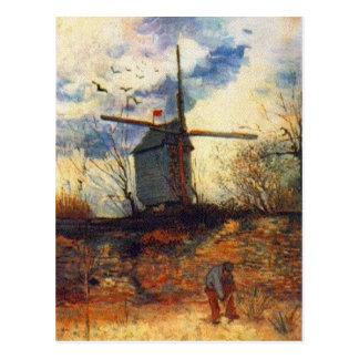 Le Moulin de la Galette Van Gogh Postcard