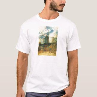 Le Moulin de la Galette Van Gogh T-Shirt
