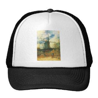 Le Moulin de la Galette Van Gogh Trucker Hat