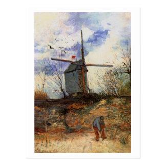 Le Moulin de la Galette, Vincent van Gogh Postcard