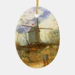 Le Moulin Galette by Vincent van Gogh, Windmill Ornament
