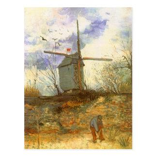 Le Moulin Galette by Vincent van Gogh, Windmills Postcard