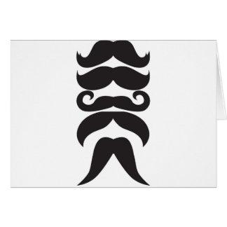 Le Moustache Tarjeta De Felicitación