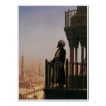 Le Muezzin, The Call to Prayer, 1865 Print