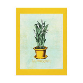 Le Muguet Canvas Print