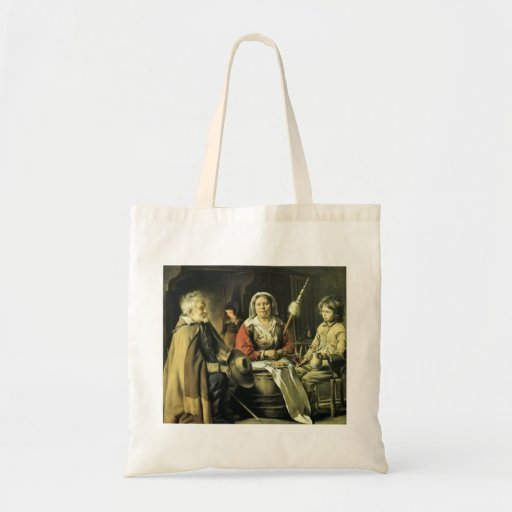 Le Nain brothers- Country interior Canvas Bag