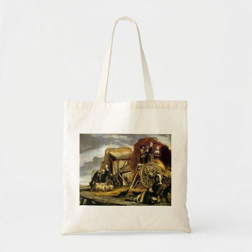 Le Nain brothers- The Cart Tote Bags