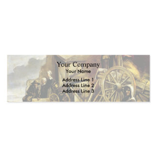 Le Nain brothers- The Cart Business Card Template