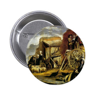 Le Nain brothers- The Cart Buttons