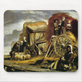 Le Nain brothers- The Cart Mouse Pad
