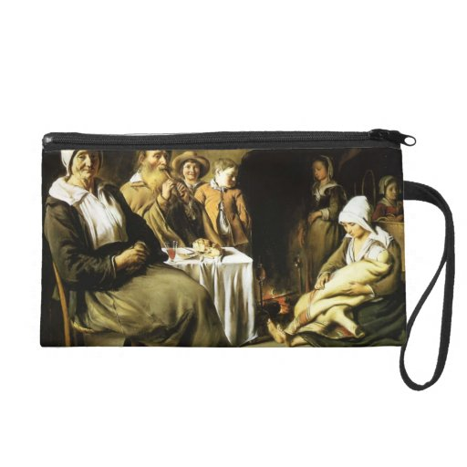 Le Nain brothers- The Family Meal Wristlet Clutches